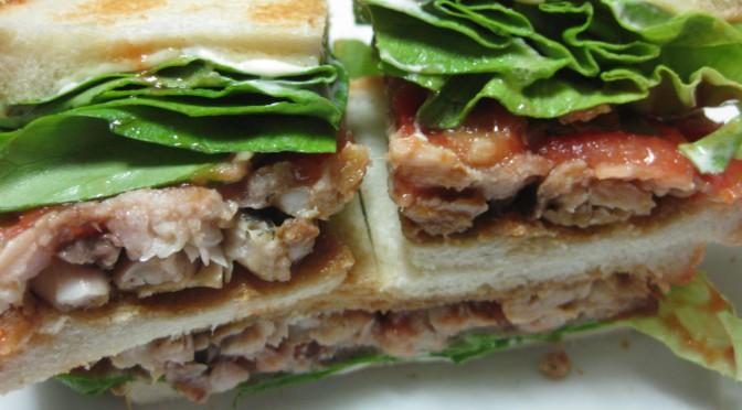 鯵のサンドイッチ
