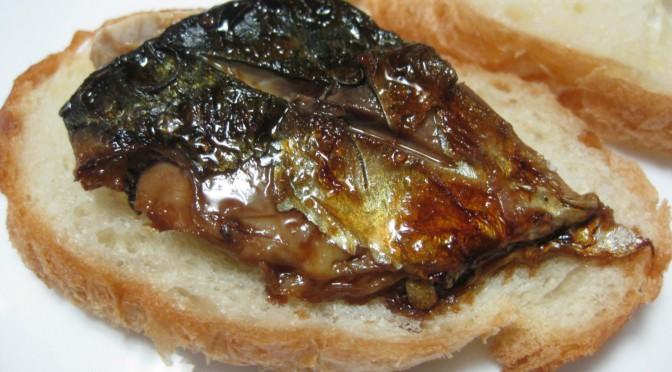 鯖のサンドイッチ その2