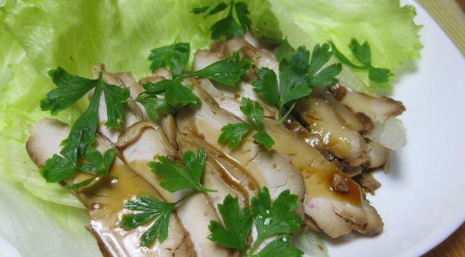 鶏胸肉の味噌漬け