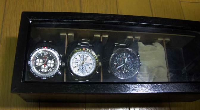 腕時計収納ケースの製作