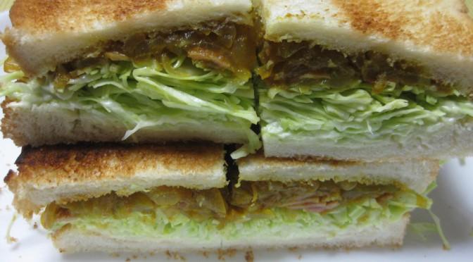 カレーのサンドイッチ2?