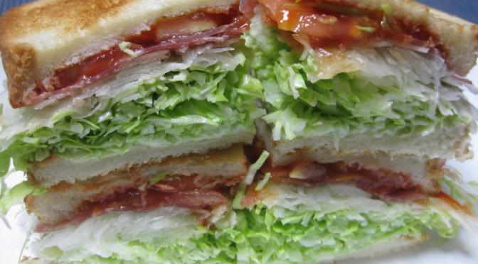 生ハムのサンドイッチ