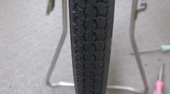自転車のタイヤ交換(後輪編)