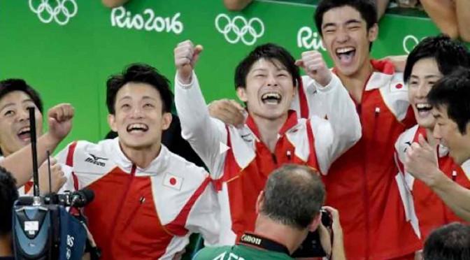 男子体操日本団体金