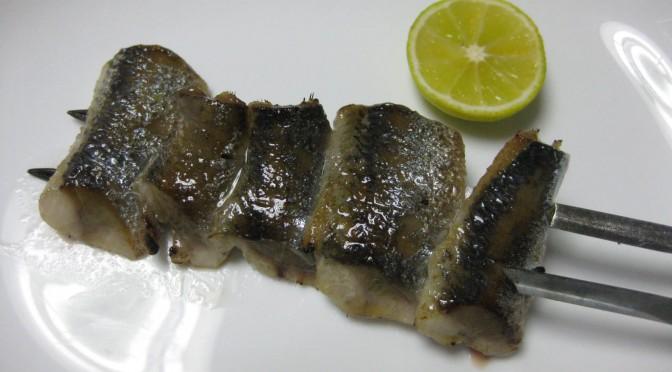 秋刀魚の炙り(あぶり)
