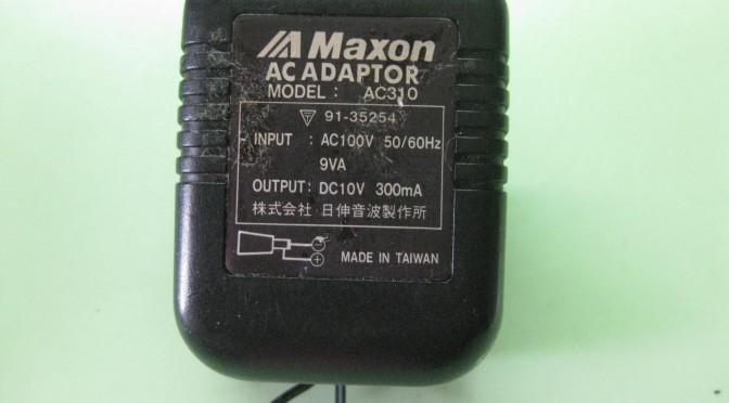 ACアダプターの修理
