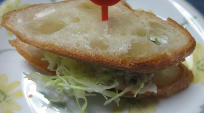 鰯のサンドイッチ
