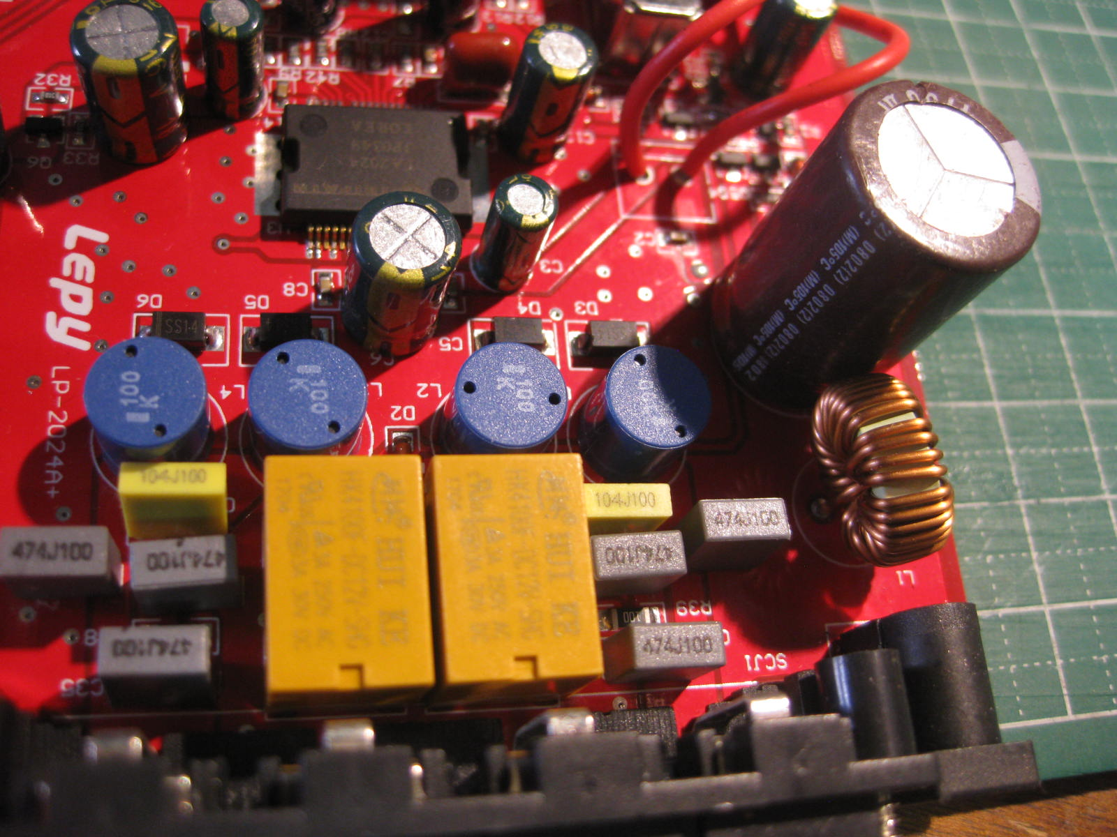 Com 2 20w Audio Amplifier Circuit Using Tda1552q Img 4336