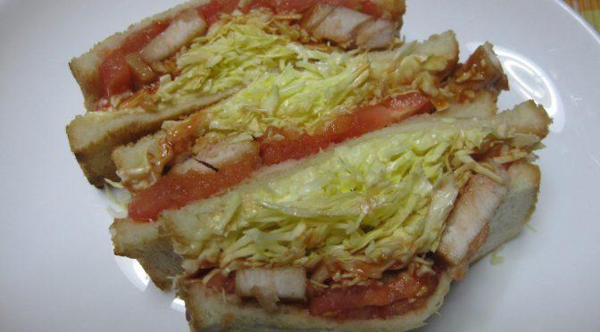 マグロのサンドイッチ