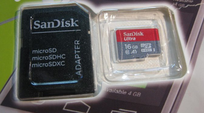 SanDisk microSDHC