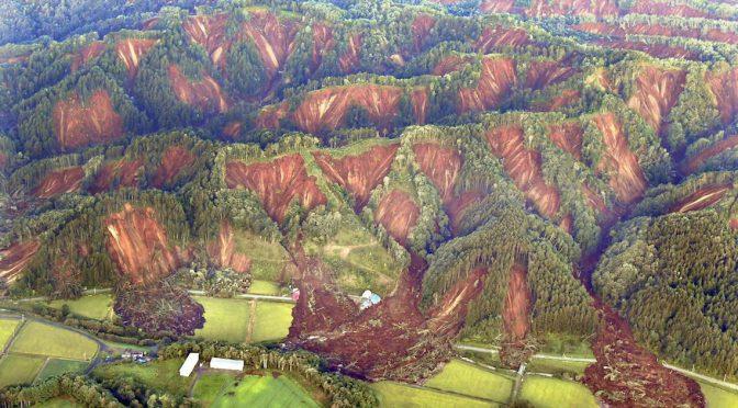 北海道で震度7