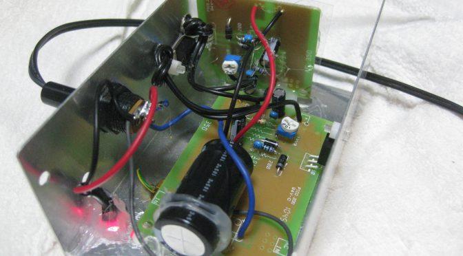安定化電源キットの製作02