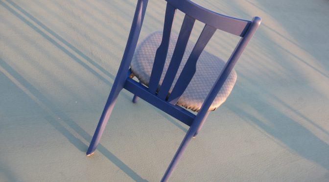 椅子の塗り替え張り替え その参
