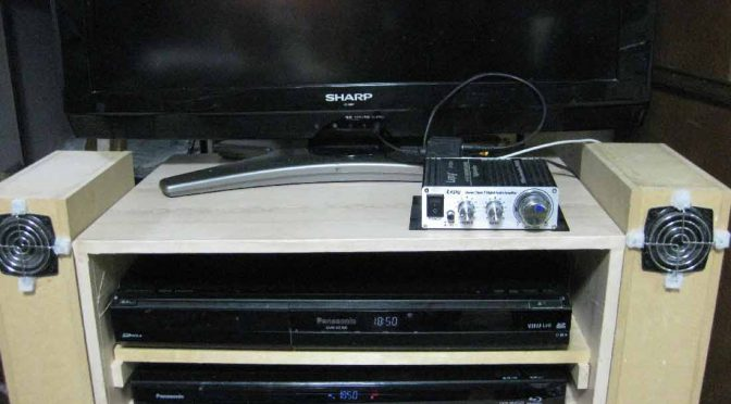スピーカー付きTVボード